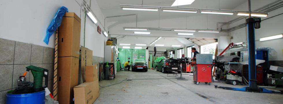 Hadersdorfer Karosseriewerkstätte - Werkstatt