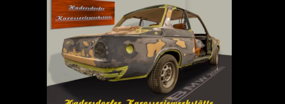 Hadersdorfer Karosseriewerkstätte BMW 2002 Heck