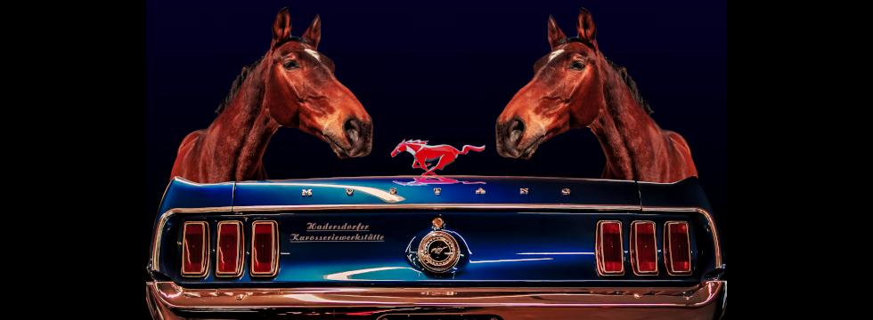 Hadersdorfer Karosseriewerkstätte - Ford Mustang Restauriert