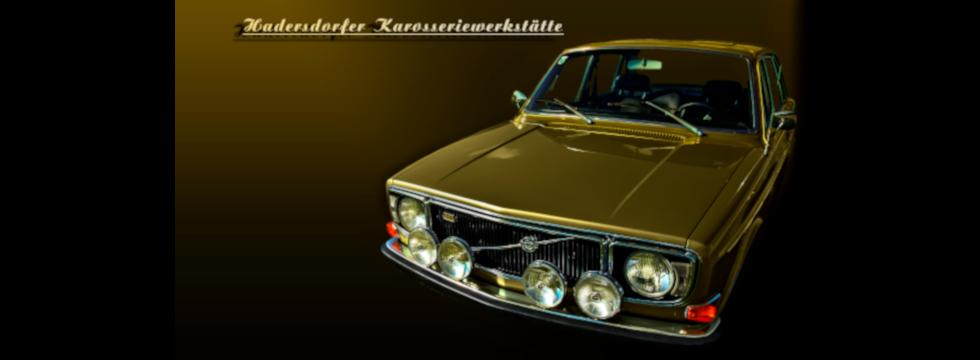Hadersdorfer Karosseriewerkstätte - Volvo 144 GT